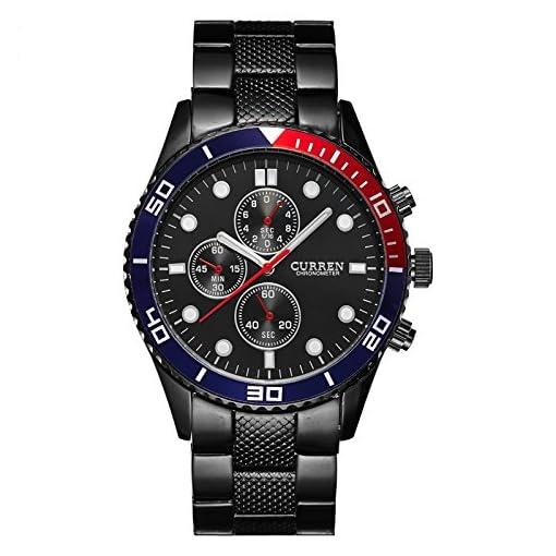 V2A Curren Luxury Stainless Steel Waterproof Watch For Men A