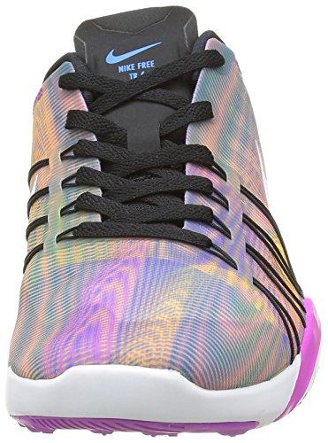 Damen Nike Free TR 6 Trainingsschuhe Schwarz / Weiß-Hyper Violett