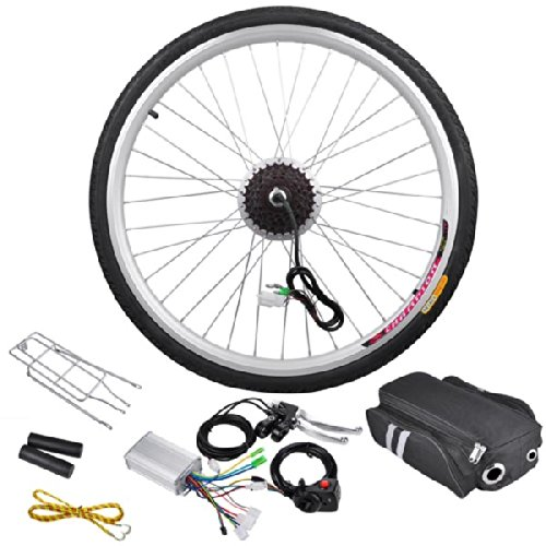 36v 250w 26in Rear Wheel Electric Bicycle Motor Conversion Kit by KOVAL INC. B00LFW2046