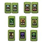 Emerald Harvest Nutrients 2-part Combo Package Kit - 2.5 Gallon Size (Cali Pro Grow A&B, Cali Pro Bloom A&B, Root Wizard, Honey Chome, King Kola, Emerald Goddess, Cal-Mag & Sturdy Stalk)