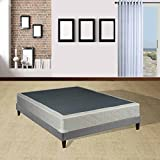 Continental Sleep 4-inch Twin Size Assembled Box Spring for Mattress, Elegant Collection