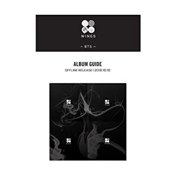 BANGTAN BOYS KPOP BTS WINGS Vol  2 Album [ N Version ] CD + Official Folded  Poster + Photobook + Photocard + Extra Photocard Gift