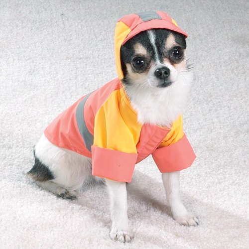 LARGE - PEACH - Waterproof Storm Dog Jackets