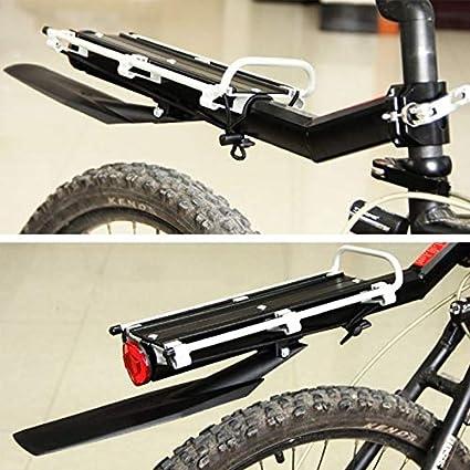 SRJSKR Ajustable MTB Equipaje de liberación rápida de Montaje Portador de la Bici del Asiento Trasero del Estante con la Postal bastidores portaequipajes: Amazon.es: Hogar