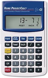 Amazon com: CALCULATED INDUSTRIES 4019 Material Estimator Calculator