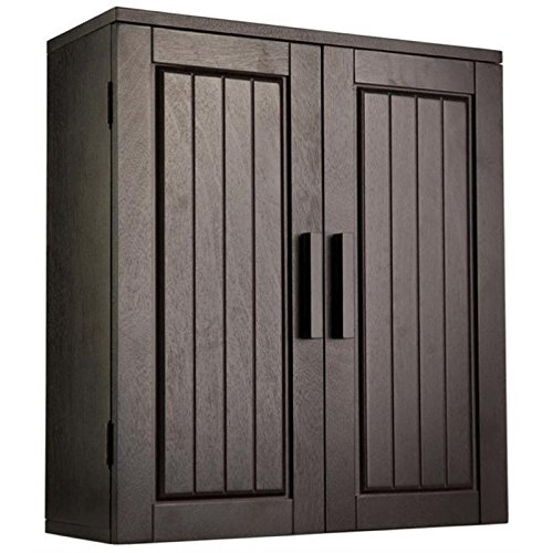 Bowery Hill 2 Door Medicine Cabinet in Dark Espresso
