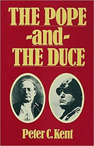 Amazon The Pope And The Duce The International Impact Of The