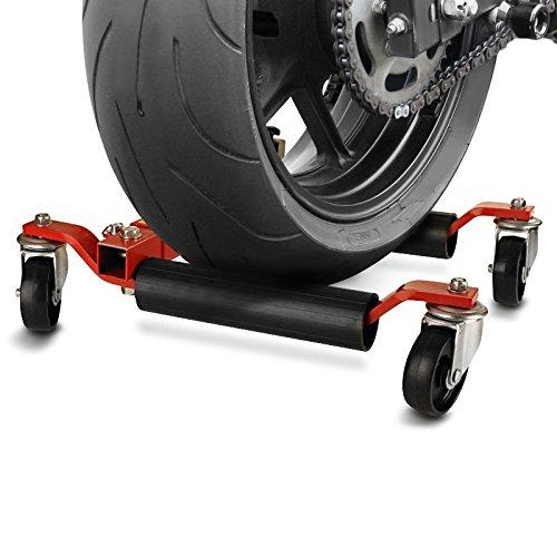 Chariot de d/éplacement Moto ConStands Heavy Duty rouge