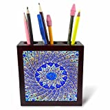 3dRose ph_276921_1 Ornate Pottery Designs Madaba, Jordan Tile Pen Holder, 5''