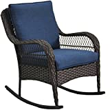 Better Homes and Gardens Colebrook Rocking Chair (Blue)
