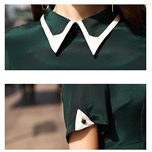 Vestido Sin Mangas Verde Para Cóctel Mujer Dissa 6xwd6