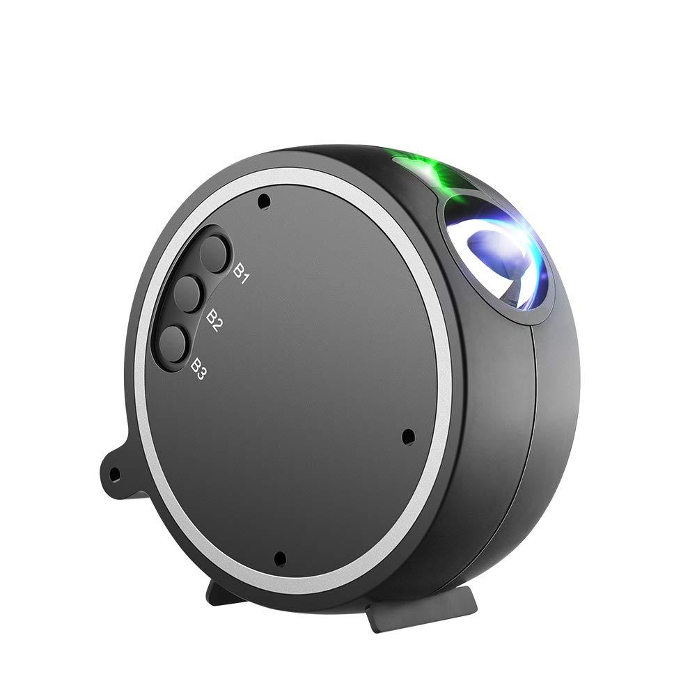 Projector Light, Kingtoys LED Projection Romantic Night Lamp, Blue Star Light Suitable for Birthday Parties, Family Party, KTV, Dance Halls, Clubs, Bars, Karaoke, Kids Party, Dance Floor