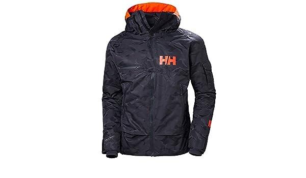 Helly Hansen Garibaldi Jacket Graphite Blue Camo S: Amazon ...
