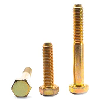 "Coarse Grade 8 Yellow Hex Nut 9//16/""-12 Zinc Select your Quantity"
