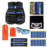 Peicees Kids Elite Tactical Vest Kit For Nerf