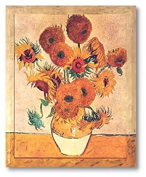 Amazonde Bild Kunstdruck Vincent Van Gogh Sonnenblume Galeriebild