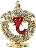 Speedwav Lord Ganehsa Car Dashboard God Idol-Red