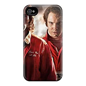 New Tpu Hard Case Premium Iphone 4/4s Skin Case Cover(rush Movie)
