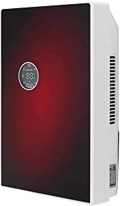 WYFDM 220V Intelligent Electric Low Noise Air Dryer Eliminating Humidity Home Office Desiccant Compact Absorb Dehumidifier,Red
