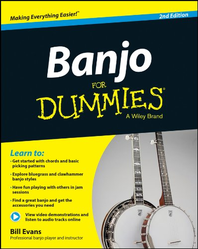 Banjo For Dummies: Book + Online Video and Audio Instruction (English Edition)