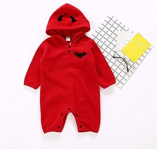 Disfraz de Halloween para bebé Otoño e Invierno Fleece Pumpkin ...