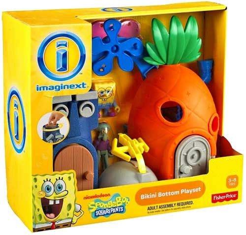 Spongebob Bikini Bottom - Fisher-Price Imaginext Nickelodeon SpongeBob SquarePants Bikini Bottom Playset