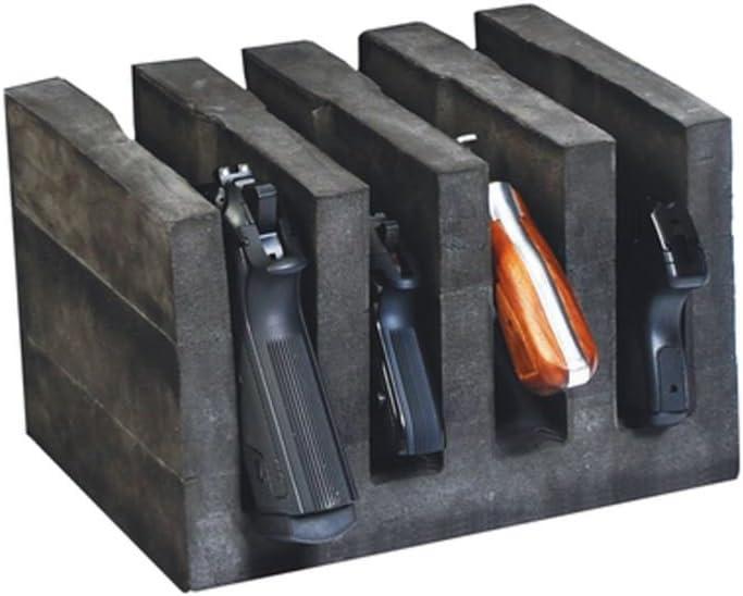 G5 Outdoors Foam Pistol Cradle, Blue Foam, Holds Up to 5 Pistols