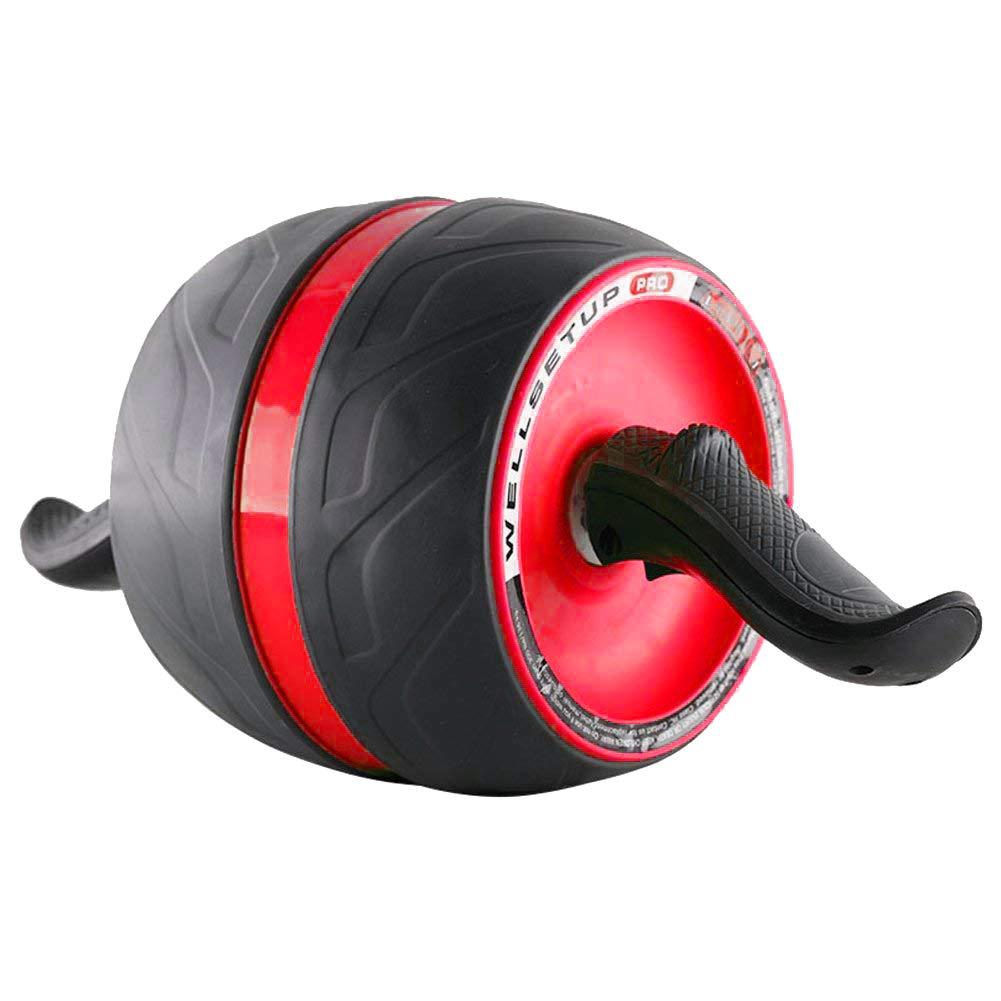 QYXANG Ab Roller Rad, Ab Carver Pro Roller Trainingsgeräte Mit Knie Pad Für Abs Bauchkern Fitness Workouts Training Für Männer Frauen