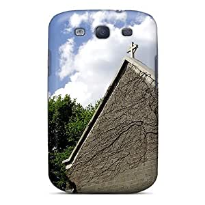 Protective Tpu Case With Fashion Design For Galaxy S3 (church)