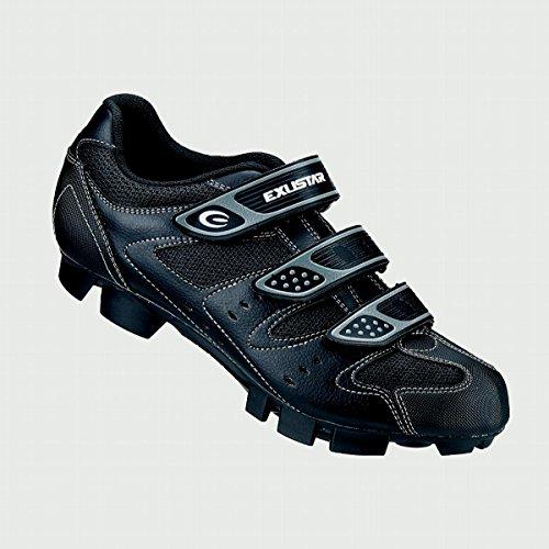 Exustar E-SM324 MTB Shoe, Black, Size 44