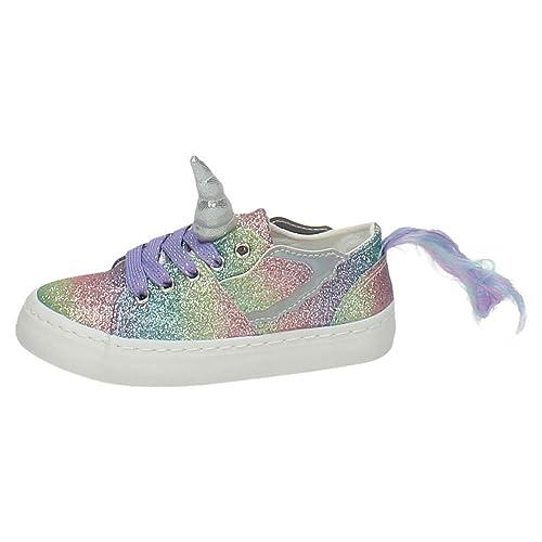 Zapatillas Unicornio Conguitos Glitter (25)