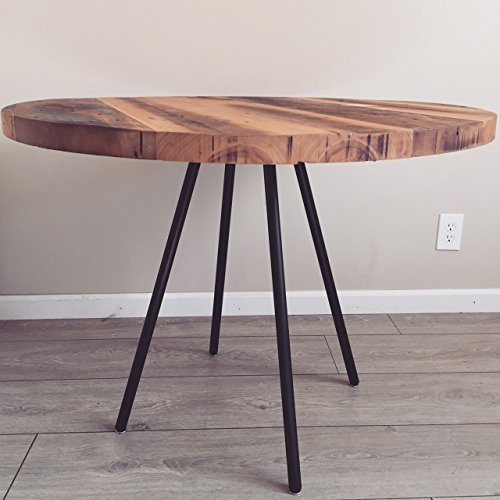 Wood Table - Dining Table - Reclaimed Wood Table - Round Table