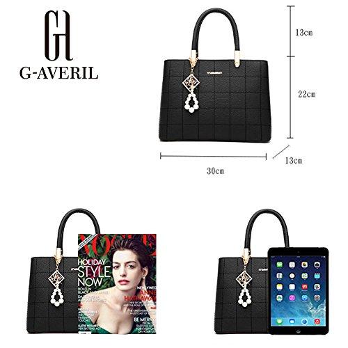 G-AVERIL - Bolso mochila  para mujer rosa rosa blanco