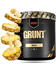 Redcon1 Grunt, EAAs, 30 Servings, Recover Faster, 9 Essential Amino Acids 30 Servings, Complete Protein Source