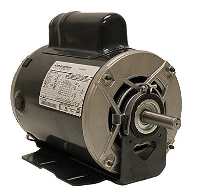 Marathon C235 Fan and Blower Motor, Single/Split Phase, 1 hp, 1725 rpm, 115/208-230V, 13.6/6.7-6.8 amp