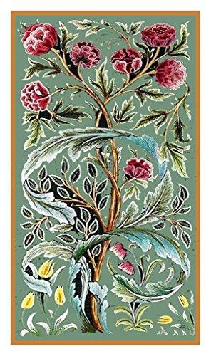 Orenco Originals William Morris Oak Roses Design Counted Cross Stitch Pattern ()