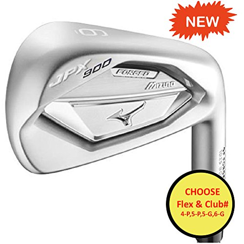 Mizuno Golf JPX 900 Forged Iron Set - Right Hand - Steel/NS Pro 950 - Regular - 5-PW (6 Clubs)