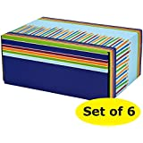 Gift Shipping Boxes (Pack of 6, Pattern 4)