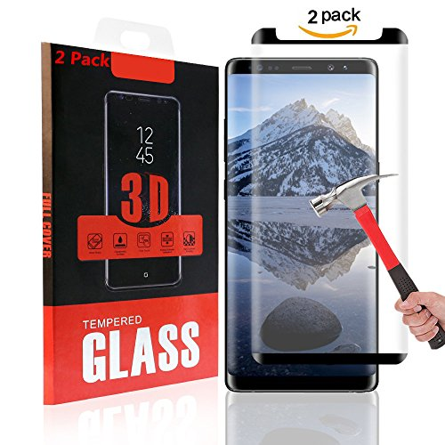 Tempered Glass Screen Protector for Samsung Galaxy Note 2 (Purple) - 1