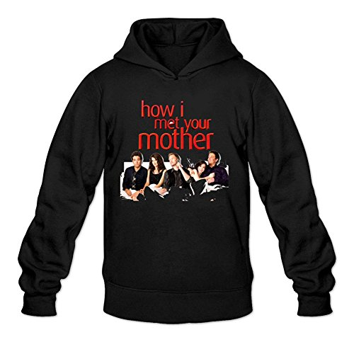 YYShirt Men's How I Met Your Mother Hoodie Sweatshirt Large Black