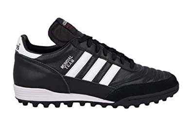 b5f26a1788d Image Unavailable. Image not available for. Color  adidas Mundial Team Mens Soccer  Shoe 9 Black-White