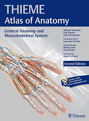 Atlas of Anatomy, 2e, 3-Volume Set: General Anatomy and Musculoskeletal System, 2e (THIEME Atlas of Anatomy)