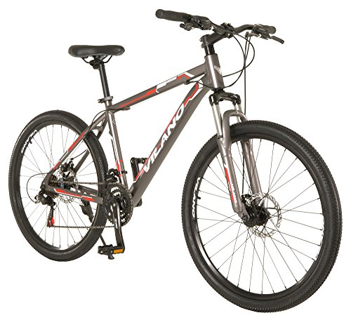 Vilano Ridge 1.0 Mountain Bike MTB 21 Speed with Disc Brakes
