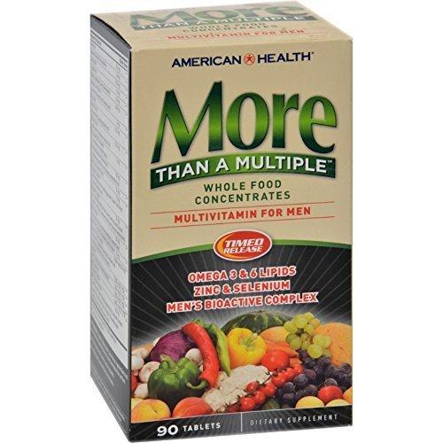 Mens Multiple 90 Tabs (AMERICAN HEALTH MORE THAN MULTIPLE-MEN, 90 TAB)