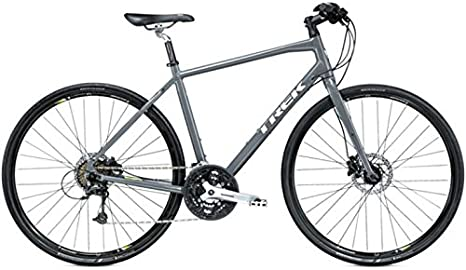 Trek 7.4 FX Disc, Carreras, 2015, Gris, RH 21,5