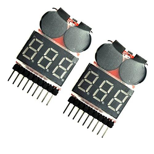 1-8S LED Lipo Voltage Indicator Checker - 4