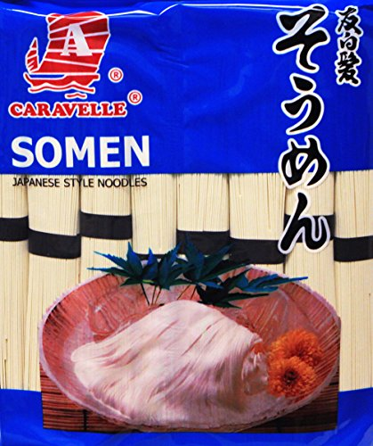 Caravelle Japanese Style Dried Noodle Somen -Thin, 80oz - Japanese Style Noodles