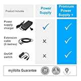 MyVolts 24V Power Supply Adaptor Compatible with