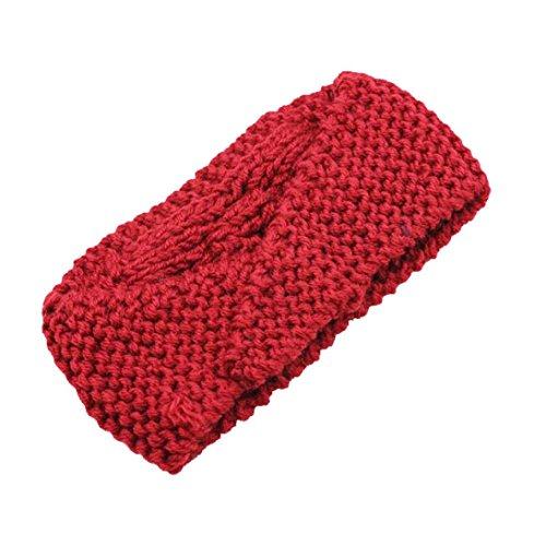 Beanie Red Hat Skiing Winter Warm Womens Hunpta Empty Headband Skull