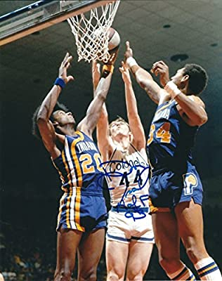 Autographed DAN ISSEL 8x10 Kentucky Colonels Photo